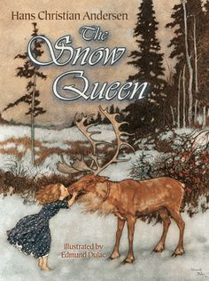 The Snow Queen (Dover Children's Classics) Paperback-November 2013 by Hans Christian Andersen, Illustrated by Edmund Dulac Shining Tears, Andersen's Fairy Tales, Frozen Film, Baby In Snow, Disney Animated Films, Edmund Dulac, Hans Christian, Snow Queen, Children's Literature