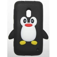 Lumia 620 musta pingviini silikonisuojus. Snowman, Disney Characters, Fictional Characters, Snowmen, Disney Face Characters