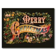Get your hands on a customizable Victorian Christmas Cards postcard from Zazzle. Find a large selection of sizes and shapes for your postcard needs! Victorian Christmas, Vintage Christmas Cards, Christmas Gift Tags, Vintage Cards, Christmas Holidays, Christmas Ideas, Christmas Images, Vintage Postcards, Christmas Napkins