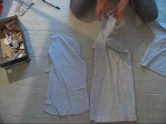 Tunic Tutorial.. Don't like the end result on hers but concept would work anyways