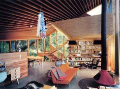 Mid Century Forest Bungalow
