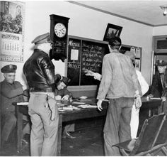The squad room of the Glendale Police Department, April, 1938. Glendale Central Public Library (Glendale, Calif.). Glendale Police Photo Collection. San Fernando Valley History Digital Library.