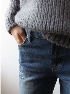 knit & denim