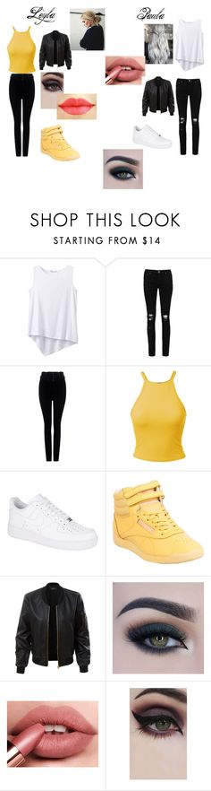 """Willkommen im BigHit Entertaiment!(Jimin und V ff)"" by masala543 on Polyvore featuring Mode, prAna, Boohoo, Citizens of Humanity, NIKE, Reebok, LE3NO, Too Faced Cosmetics und Concrete Minerals"