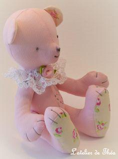 Hello Kitty, Teddy Bear, Animals, Fictional Characters, Atelier, Animales, Animaux, Teddybear, Animal