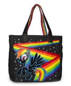 Another great find on #zulily! My Little Pony Rainbow Dash Tote by My Little Pony #zulilyfinds