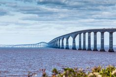 Bridging an 8-mile (12.9-kilometre) gap of the Northumberland Strait, the Confederation Bridge connects Prince Edward Island and New Brunswick. Completed in 1997, the bridge was created to replace the ferry service between the eastern provinces. The Confederation Bridge currently is the longest bridge that spans over icy water.