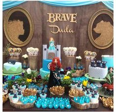 Brave sweets candy table