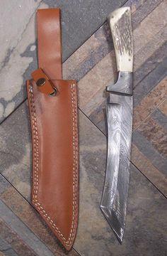 Just Handmade / Custom Knives - Listings View Wichitah Cleaver.       #handmade #knives #customknives