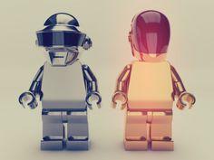 ♬♪Daft Punk Lego!♩♬