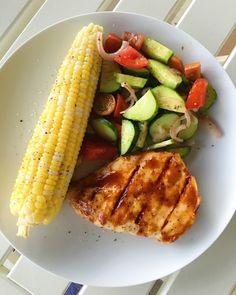 Cucumber Tomato Salad - Love & Porc