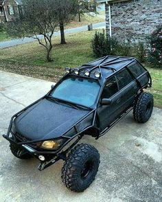 monster Subaru off-roader