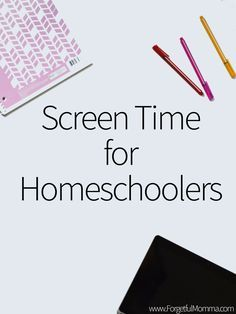 Determining screen time as homeschoolers is a little different than from other kids, simply because we use can use it in our homeschool.