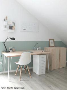 Ein kleines, feines Home-Office im Scandilook ♡