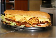 Best Sandwich in town -Get your Gatsby at the Golden Dish in the Gatesville Center, Rylands