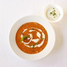 Linsen-Kokos-Suppe