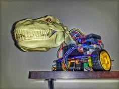 #arduino #trex #robot #robo #rio #riodejaneiro by honer_oliveira