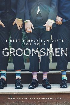 6 Best Simply Fun Gifts for your Groomsmen