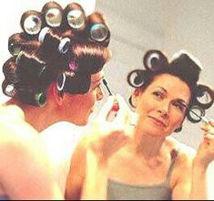 Sleep In Hair Rollers, 1960s Hair, Wet Set, Roller Set, Curlers, Curled Hairstyles, How To Take Photos, Professional Photographer, Salons
