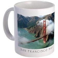 San Francisco Bay Fog Mug for