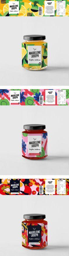 Magdeleine & Joseph — Don Bosco — Branding on Behance Juice Packaging, Brand Packaging, Branding, Chutney, Adobe Illustrator, Fruit Illustration, Packaging Design Inspiration, Presentation Design, Food Design