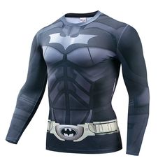 19 New Nightwing Printed T-shirts Men Long Sleeve Cosplay Costume Fitness Clothing Male Tops Halloween Costumes For Men Pri 32 Cosplay Costumes, Halloween Costumes, Fitness Clothing, Nightwing, Motorcycle Jacket, 3d Printing, Overalls, Printed, Long Sleeve
