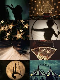"mypieceofculture: "" Witch Aesthetics // Circus Witch Chaos Witch 