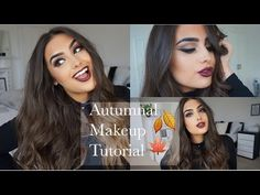 My GO-TO Fall/Autumnal Makeup Tutorial - YouTube