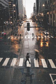 Cozy rainy day