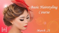 Learn Hairstyling from A to Z with our trainers New Basic Hairstyling course starts soon!    The ultimate course for those who want to start a career in Hair Stylist. This course will take you from a foundation level, through combining different hair techniques you will learn how to create an e