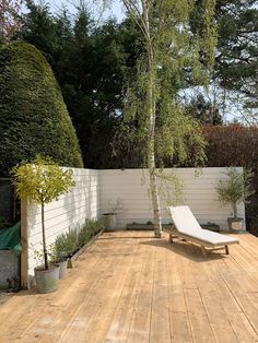 Garden // Building a Scaffold Board Deck & Clad Fence - Roses and Rolltops
