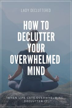 In our day and age of being superhero multi-taskers, there are some days where our we just can't seem to declutter our mind. Wellness Activities, Mindfulness Activities, Mindfulness Meditation, Self Development, Personal Development, Mindful Living, Slow Living, Practicing Self Love, Declutter Your Mind