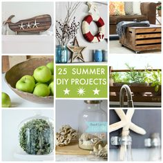 25 Summer DIY Projects! So many great ideas! -- Tatertots and Jello