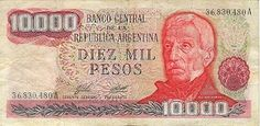 Billete de 10000 Pesos