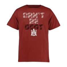 Alabama A&M Bulldogs Youth Crimson Can't Be Beat T-Shirt