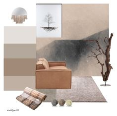 """Earth..."" by katelyn999 ❤ liked on Polyvore featuring interior, interiors, interior design, home, home decor, interior decorating, John-Richard, ESPRIT, Restoration Hardware and natural"