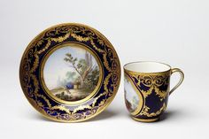 (Tasse) gobelet Calabre   Sèvres porcelain factory   V Search the Collections