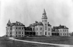 Anderson Hall - 1885 Copyright K-State Photo Services. Commercial or media use of this image must have approval. Please email photo@k-state.edu for details.
