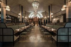 The Most Beautiful Restaurants of 2016 - Eaterclockmenumore-arrow : Feast your eyes on these 19 stone cold stunners