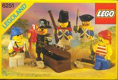 LEGO 6251-1: Pirate Mini Figures