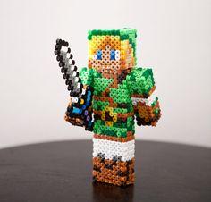 The Legend of Zelda character Link figure. Custom by BeadxBead, €18.00