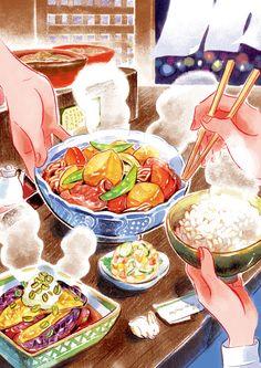 Cute Food Art, Food Sketch, Cute Food Drawings, Watercolor Food, Food Gallery, Food Wallpaper, Food Painting, Food Illustrations, Aesthetic Food