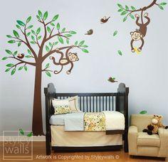 little monkey wall art