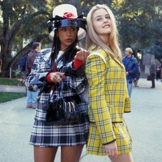 Key Events Of 1990s: Plaid We were surprised to find that plaid dates all the way back to the 1500s and had revivals almost every decade since! In the '90s, Cher Horowitz from the movie Clueless took the counterculture staple and turned it mainstream.