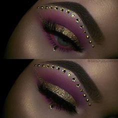 Gold and pink eye makeup look with sequins Gold and pink eye makeup look with sequins Related posts: Pink, gold and black eye shadow look Pink und Gold Glitter Eye Make-up 35 Pink Eye Makeup Looks Heavy pink eye makeup Glitter Makeup, Eyeshadow Makeup, Glitter Eyeshadow, Maybelline Eyeshadow, Glitter Paint, Gold Makeup, Pink Makeup, Glitter Fabric, Colorful Makeup