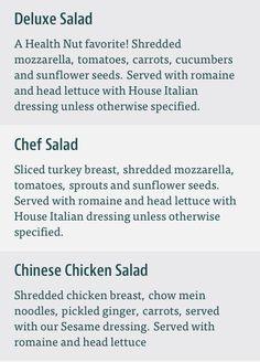 The Kardashian salad