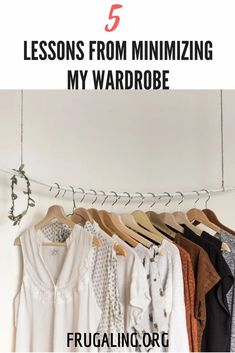 5 Lessons From Minimizing My Wardrobe. The day has come to minimize my wardrobe. After much delay and caution, I eliminated tens of items from my closet and feel lighter than ever! Capsule Wardrobe, Wardrobe Rack, Minimalist Closet, Where To Sell, Old Beds, Simple Living, Slow Fashion, Collar Shirts, Declutter