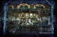 Captive on the Carousel of Time by Belinda Greb #photography