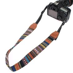 Amazon.com : Vintage Soft Multi-Color Universal Camcorder Camera Shoulder Strap Neck Belt for DSLR Nikon Canon Sony Olympus Samsung : Camera And Optics Carrying Straps : Electronics
