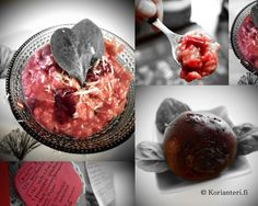 The Lovely and Beautiful Beetroot Risotto. For the Recipe visit my Blog Korianteri.fi